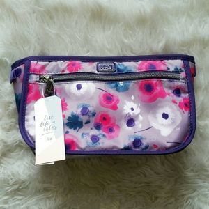 NWT lug Floral Parasail Cosmetic Case